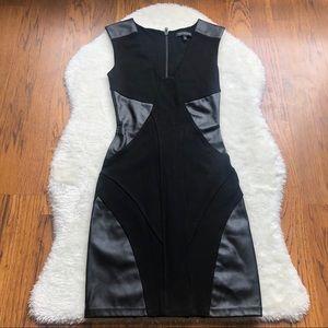 Aritzia Talula Black Bodycon cutout sheath dress